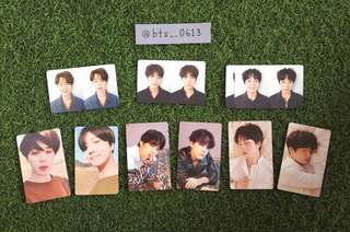 [WTS] BTS TEAR OFFICAL PHOTOCARDS