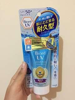 Biore Aqua Rich Sunscreen SPF 50+++