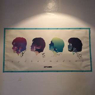 *SIGNED* Up Dharma Down Poster