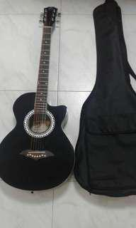 Brand New Guitar With Brand New Guitar Bag