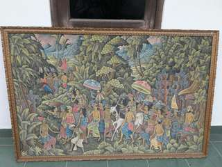 Lukisan Balinesse Activities