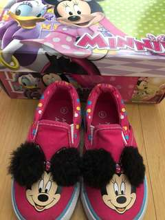 Minnie mouse slip on by payless