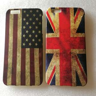 IPHONE 6s PLUS case 手機殼 機殼 機套 四邊包圍 國旗 款