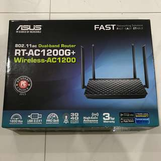ASUS RT-AC1200G+ Wireless Fast NEW WIRELESS ROUTER WIFI