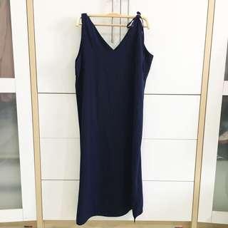 Cotton ink maxi dress