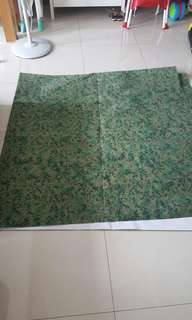 3m by 3m Army Pixcelised backdrop