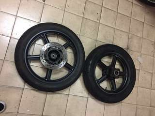 Made in italy sport rims and tyres