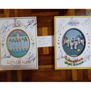 #July50 GFRIEND SIGNED LOL