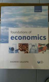 Foundation of Economics