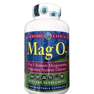 RARE find, MAG 07 MAG07 Aerobic Life Oxygen Digestive System Cleanser Capsules 180 counts