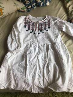 民俗風洋裝