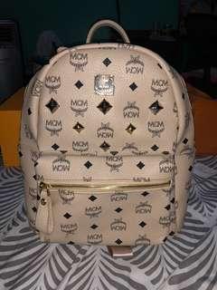 MCM backpack cream
