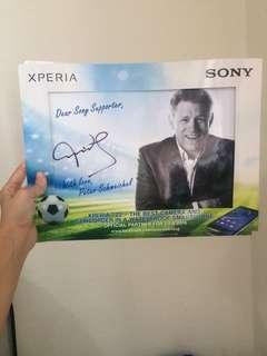 Peter Schmeichel autograph