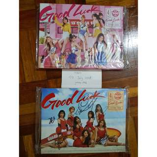 #July50 AOA SIGNED GOOD LUCK