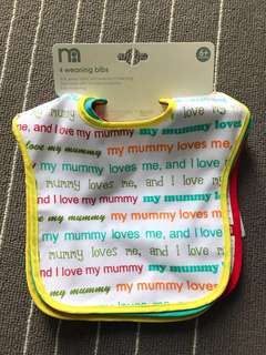 Bibs Mother Care Mummy Loves Me