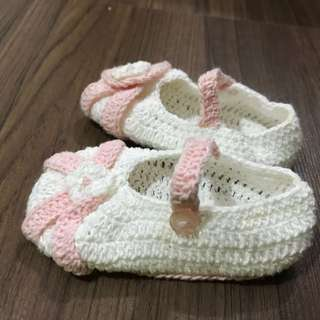 Lovelylace Crochet babygirl booties/shoes