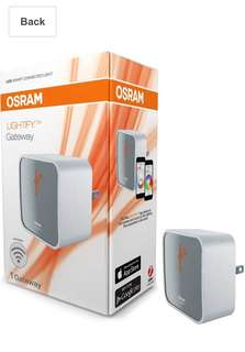 184• OSRAM LIGHTIFY Wireless Gateway/Hub/Bridge between Smart Home Devices using Zigbee New Version, Works with Nest, 73692