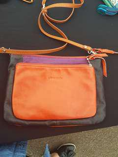 Genuine bag leather good condtion