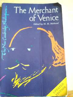 The Merchant Of Venice edited by M.M Mahood