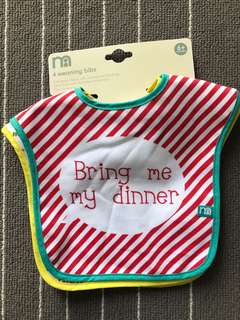 Bibs Mothercare My Daddy Loves Me