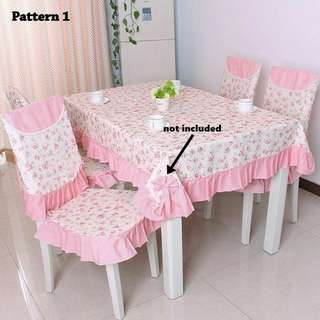 TABLE CLOTH + COVER CHAIR