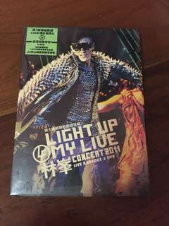 Raymond Lam 林峯 Concert 2011 Karaoke 3 DVD