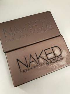 Urban decay naked basics one and two