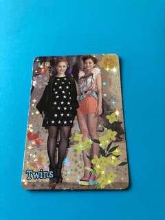 (包郵) Twins Yes卡 閃卡 / Yes Card