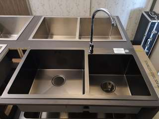 NANO Technology Coloured Stainless Steel Sink