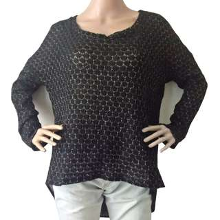 Laced/Knitted Long Top
