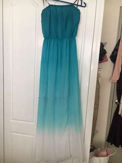 Forever 21 maxi dress strapless