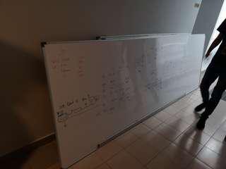 Used Whiteboard 360cm x 120cm