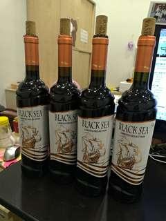 Black sea 紅酒 150 4枝