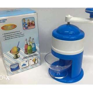 Serutan Es Mini - Ice Shaver Manual - Ice Cone Machine