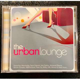 The Urban Lounge - CD various artists 20 chill tracks
