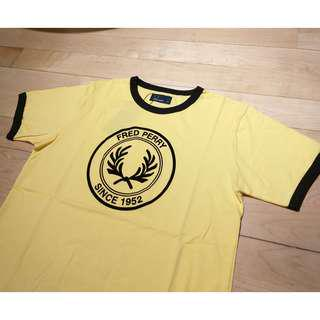 100%New Fred Perry mod tee