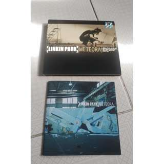 Linkin Park Meteora cd. Singapore pressing