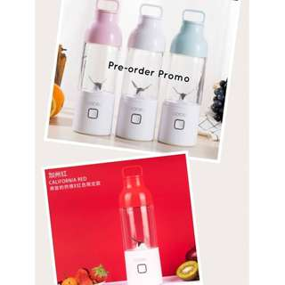 Goceo 600ml Glass Portable Juicer Blender with USD charging
