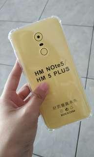Casing softcase anticrack Xiaomi Redmi 5 Plus