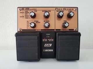 RARE! Boss OC-20G Octave Guitar Effect Pedal