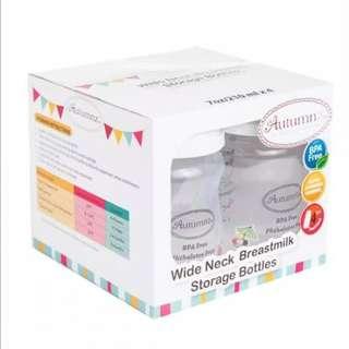 Autumnz Wide Neck Breastmilk Storage Bottle- 7oz