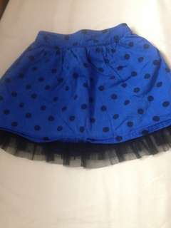 Skirt for kids age 2 to 3 old