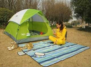 (SerbaSerbiku) Tikar piknik lipat good quality
