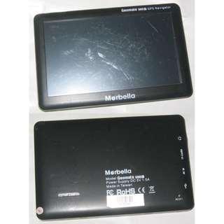 road GPS Marbella Geomate 500S . no charger no mount