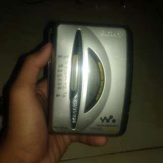 Walkman Sony wm fx195