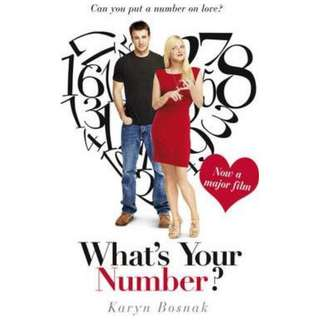 What's Your Number by Karyn Bosnak
