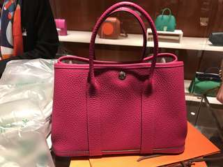 100% authentic Hermes garden party 30