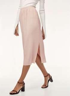 Aritzia Celesse Skirt in BLACK