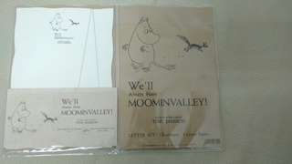 Moominvalley letter set