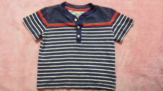 Carters boys stripe tshirt